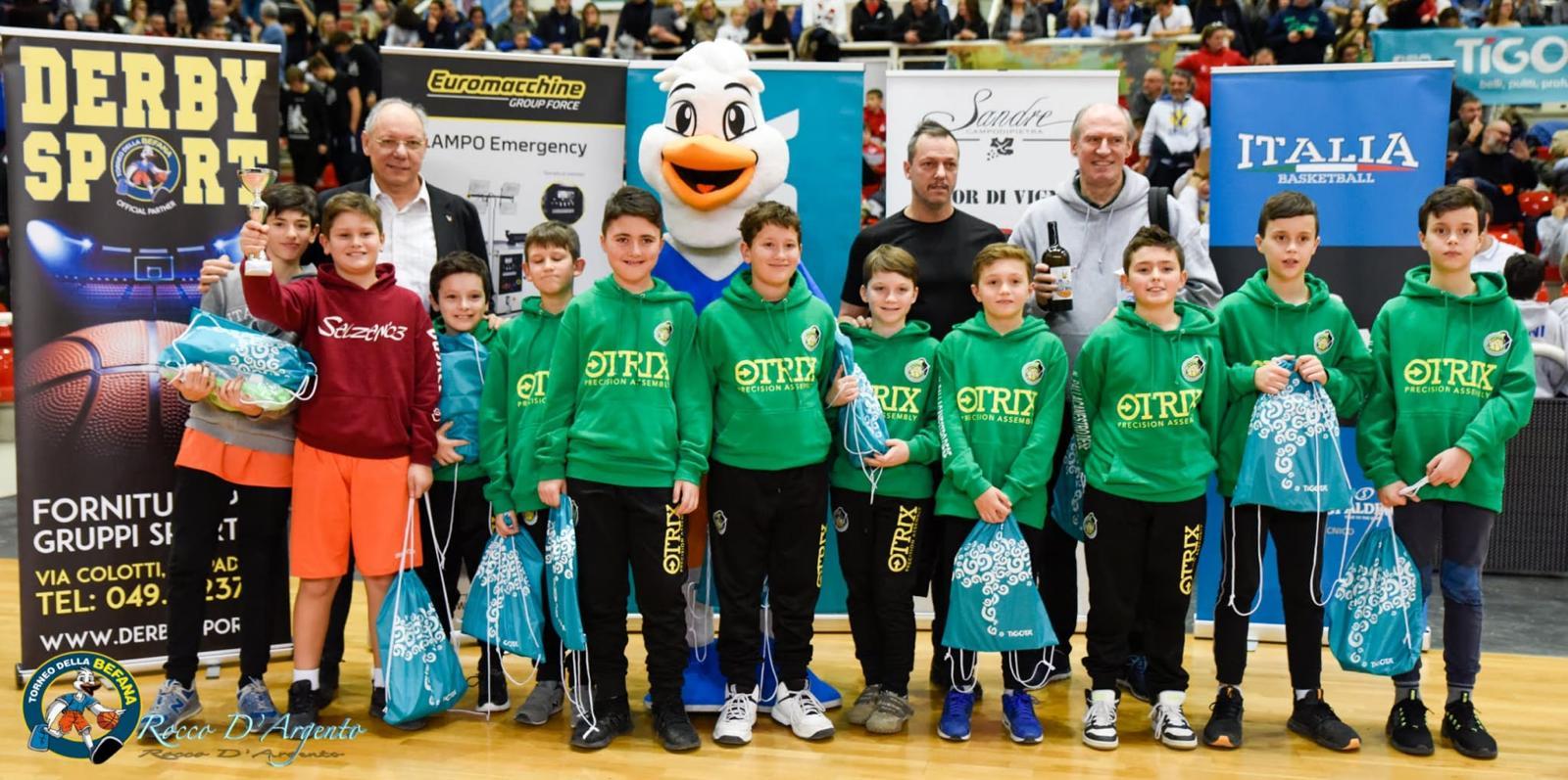 Foto Aquilotti al Torneo Della Befana 2020